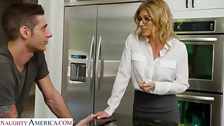 Sexy stepmother wants her stepson added to that widely applicable fucks like a champ