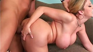 Blonde Mature Sara Jay Beside Warm Soft Well-known Tits Fucked