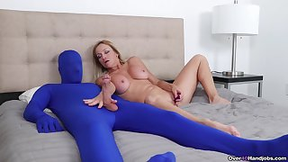 Dominant mature plays with her prima ballerina slave in extra kinky fetish
