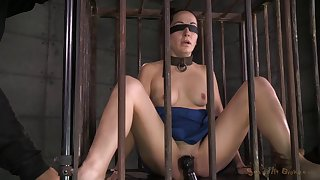 Inferior torture session with cock hungry newborn Marley Blaze