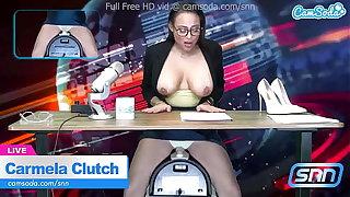 News Glue Carmela Clutch Orgasms endure on air