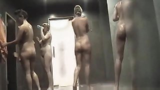 Completely naked girls and women