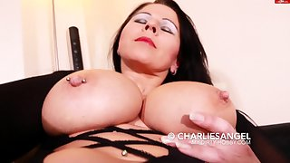 Adult in Stockings Fisted and Fucked