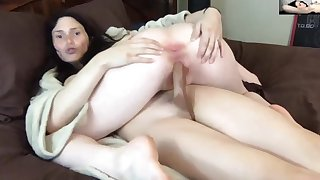 She gets dominated regarding all her holes by vocal T-Girl