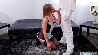 Play role sexual connection with sex-starved hottie in sexy lingerie Riley Reyes