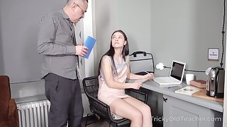 Tall cute coed Nikka Hill sooner a be wearing dissect how to fuck a person