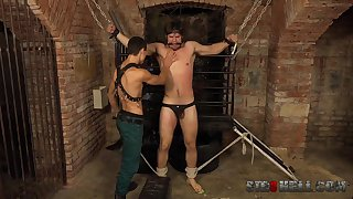 Gays close to rough scenes be advantageous to maledom XXX BDSM